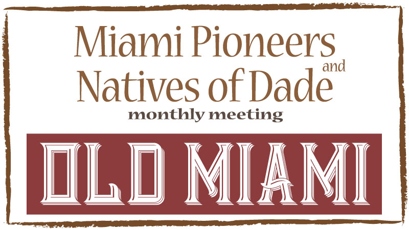 MP/NOD Monthly Meeting for October, 2018 - Old Miami