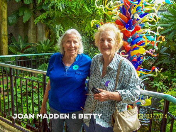 Joan Madden and Betty Filippi